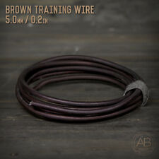 American Bonsai Brown Aluminum Training Wire -  5.0mm - 100 grams - 6ft - 100g
