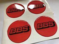 Aufkleber 4 psc x 60 mm Emblem Auto Tuning BBS Nabendeckel Radkappen