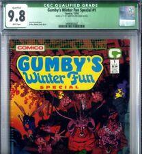 PRIMO:  GUMBY's Winter Fun Special #1 SIGNED Adams NM/MT 9.8 HIGHEST CGC Census