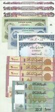 ASIA LOT 12 NOTES. PAKISTAN-MONGOLIA-LEBANON. BARGAIN. 9RW 21ABRIL