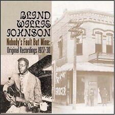 Blind Willie Johnson - Nobody's Fault But Mine [New CD] Rmst