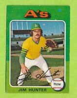 1975 Topps - Jim Hunter (#230)  Oakland Athletics