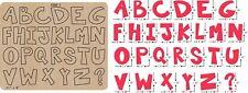 New letter Wooden die Scrapbooking Cutting Dies C-386-1
