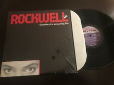 Rockwell - Somebody's Watching Me - 1984 vinyl lp as new condition USA