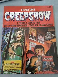 Stephen King's CREEPSHOW 1982 Book Club Edition