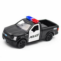1:36 Ford F-150 Police Pickup Truck Model Car Diecast Toy Vehicle Pull Back Kids