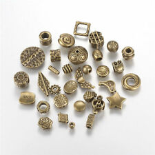 100 Gram Assorted Tibetan Alloy Metal Beads Spacers Antique Bronze Charms 4~22mm