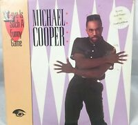 Michael Cooper love you such a funny game         LP Record