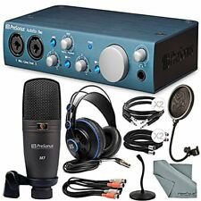 PreSonus Audiobox iTwo Studio USB/iPad hardware/software Recording Kit and Acces