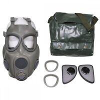 CZ Schutzmaske M10 grau Gasmaske ABC Schutz Militär Armee Atemschutz Tasche