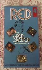 THE RED SKELETON CHRISTMAS SPECIAL 4 - VHS TAPE RELEASED BY HIS ESTATE COMEDY NR