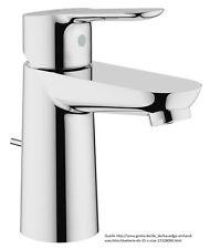 Grohe bauedge para lavabo grifo 23328000 grifo de agua baño einhebel mezclador