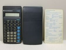 Texas Instruments TI-35X Scientific Calculator w/ Cover & Reference Card Tested