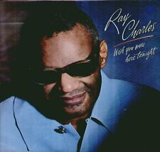 "RAY CHARLES "" WISH YOU WERE HERE TONIGHT "" LP NUOVO  CBS 1983"