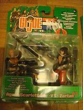 4 Figurines GI JOE,Cobra(Zartan,Cobra Commander,Hasbro,no Goldorak,MOTU,Skeletor