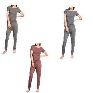 NWT Calvin Klein Women's T-Shirt & Jogger Lounge Set (Various Sizes & Colors)