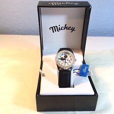 MZ Berger Company Disney Mickey Mouse Lady's Watch Bezel Stainless Steel NIB