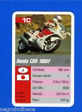 [GCG] SUPERCARTINE - SCHMID - Figurina-Sticker n. 1C - HONDA CBR 1000 F