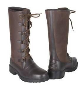 Toggi Ladies Aspen Leather Country Boots, Walking, Hunting, Shooting, Waterproof