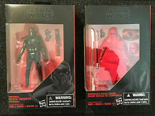 "Star Wars Rogue One Black Series Death Trooper & Emperor's Royal Guard Lot 3.75"""