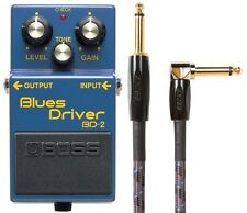 New Boss BD-2 Blues Driver Effect Pedal FREE Boss 10 Foot Cable!
