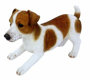 Real Life XL Male Jack Russell Dog Garden Ornament (XRL-JACK-A)