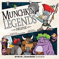 Steve Jackson Games Munchkin Legends Luxus Neu Edition Kartenspiel