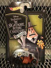 Hotwheels 2018 Ltd Edition ~ Mayor ~ Tim Burton Nightmare Before Christmas 25 Yr