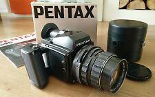 pentax 645 - Takumar 2.4/105 - 120 film casette - boxed