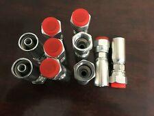 Compatible Hydraulic Hose Fitting 06u608 Interchange Style 10 Pkg 8fjic