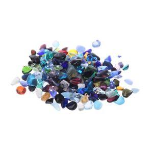 Natural Stone Pebble Crystal Gravel Flowerpot Fish Tank Aquarium DIY Decor