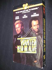 RUTGER HAUER WANTED DEAD OR ALIVE VHS GENE SIMMONS KISS W/ INTERVIEWS DEMOLITION