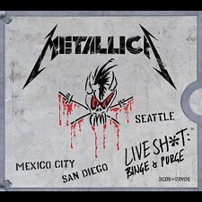 Live Shit: Binge & Purge [Box] by Metallica (CD, Nov-2002, 3 Discs, Elektra...