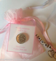 Personalised Lucky Sixpence Gift - Good Luck in your New Job