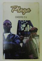 Playa - Cheers 2 U - Cassette Single - R&B Soul Hip Hop Funk