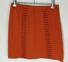 LADAKH Burnt Orange Skirt SIZE MEDIUM