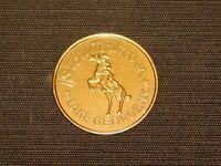 VINTAGE 1960-70S STORYTOWN GASLIGHT VILLAGE LAKE GEORGE NY SOUVENIR METAL COIN