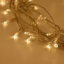 Fairy Lights Syhonic 10m 80 Warm White LEDs Battery String Indoor Starry for Be
