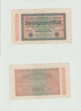 20.000 Mark 1923 M-MV Deutsches Reich - Reichsbanknote - 0220