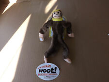 Woot-Screaming-Monkey-with-yellow-cap-and-bananas-collectible