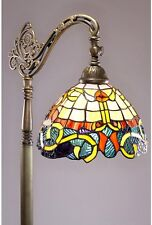 Floor Lamps Living Room Tiffany Style Reading Mission Victorian Stained Glass