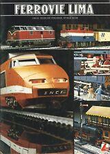Catalogo Ferrovie Lima HO/N -   1980/81 - Treni elettrici in Miniatura Plastici