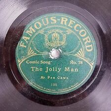 Charles Penrose Mr Pen Caws - Away With Melancholy/The Jolly Man RARE 78