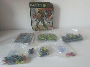 Rare Mega Bloks 6309 SCAR DORN Neo Shifters  READ DESCRIPTION PLEASE