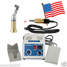 USA Dental Lab Marathon Electric 35K rpm Micromotor N3 w/ 1X Handpiece Gold