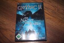 gothic II die nacht des raben game spiele pc cd-rom 2003 deutsch edition