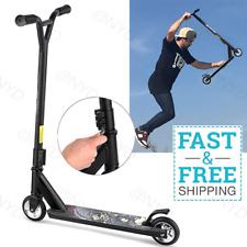 Pro Stunt Kick Scooter Aluminum Freestyle Adults Teenager Trick Extreme Scooter+