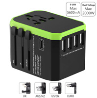 Plug Adaptor travel adapter Universal Power Adapter Charger for US UK EU AU wall