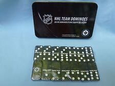 Winnipeg Jets  NHL TEAM DOMINOES Double Six Domino Set   NEW in GIFT TIN BOX