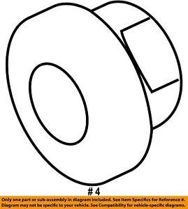 CHRYSLER OEM-Exhaust Manifold Nut 1022510003